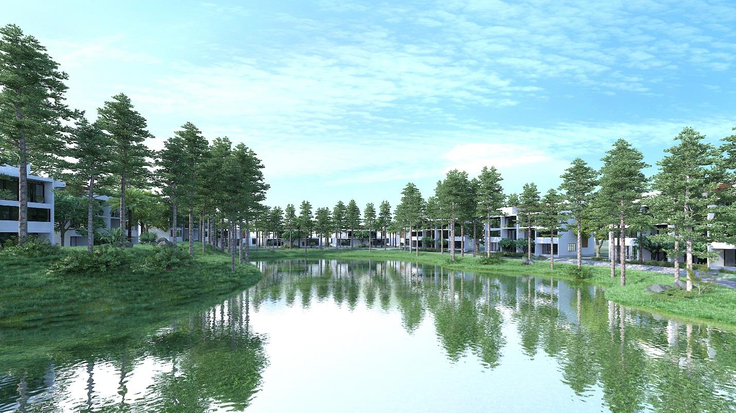 Zenna Villas Long Hải do công ty CP Hiệp Phú làm chủ đầu tư