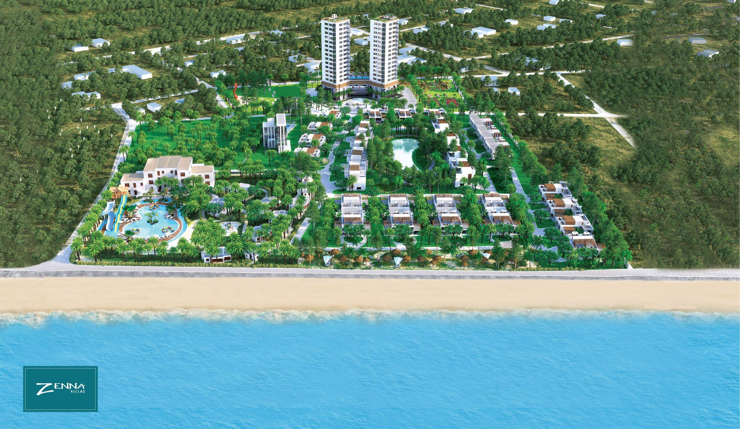 Dự án Biệt thự biển Zenna Villas Long Hải