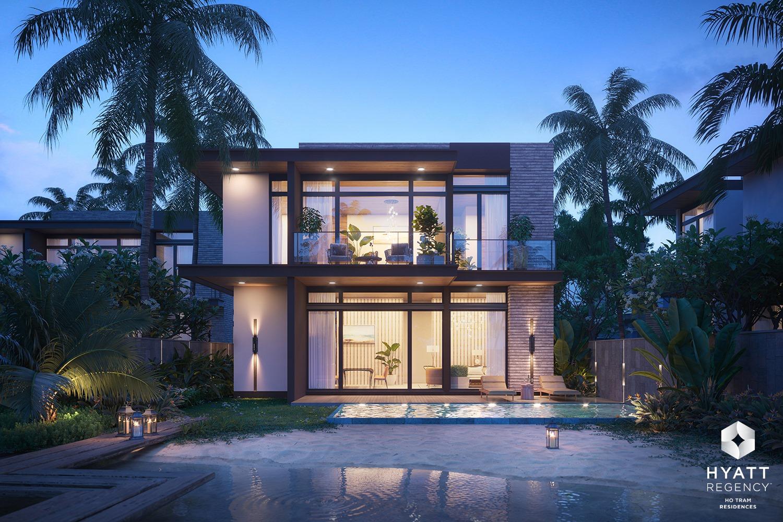 Thiết kế của biệt thự biển Hyatt Hồ Tràm