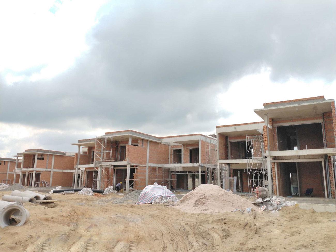 Cập nhật tiến độ thực tế dự án Angsana Hồ Tràm